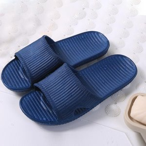 2018 Hot Summer High Quality Sports Beach Soft Shower Sandals Home Flat Bath Slippers Indoor & Outdoor Casual Men Slippers
