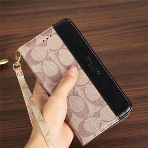 Designer Leder Brieftasche für Apple iPhone XS Max / XR 8/7/6 Plus mit Kartenhalter Flip Bumper für Frauen Mädchen