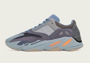 2019 En Otantik Originals 700 Karbon Mavi Statik Katı Gri Mıknatıs Kanye West FW2498 Erkekler Kadınlar Spor Sneakers ile Kutu Koşu Ayakkabıları