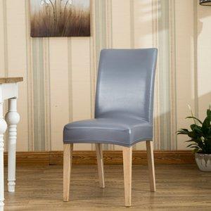 ROMANZO Домащний отель стулья Толстые водонепроницаемый Stretch PU / PVC Стул Охватывает One Piece Универсальный Ресторан чехлы на стулья