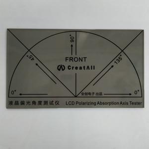 Tester di grado di strumenti di prova di angolo del film del polarizzatore dello schermo LCD nuovo per il pannello di schermo LCD del LED