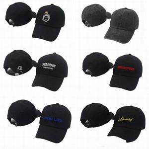Moda em branco Starboy Quatro dois Quatro Strapback Caps golfe Chapéus Homens Mulheres Snapback Cap Esporte Hip Hop Chapéu ajustável de designer chapéus tampas