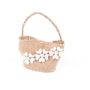 Bolsas de regalo con cordón de lino Bolsas de regalo para la fiesta del favor de la boda (Ruffles Style)