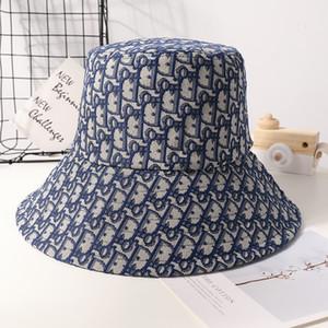 Nova moda pescador ocasional dos homens de chapéu e cartas de mulheres sol chapéu mulheres outono e inverno versão coreana da maré jacquard dupla face