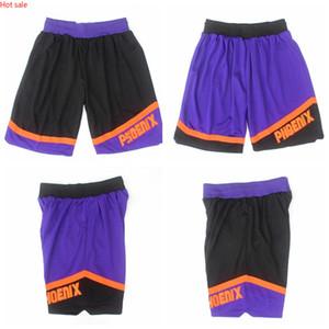 Hot PhoenixSunsMen Mitchell & Ness 1996-97 HardwoodClassics Swingman Basketball Basketball Shorts Black