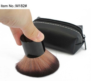 New Kabuki Brush Blusher Brush 182 Brush With Leather Bag