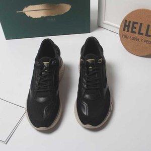 2020 Nouveau Top qualité Chain Reaction Luxe Y Designer blanc Low Men lien gaufrées Sole Chaussures Casual formateur hauteur croissante Chaussures