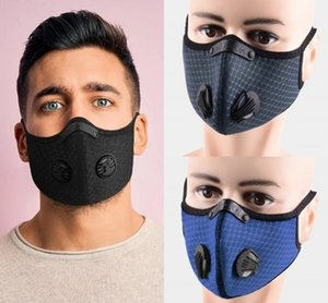 new Cycling Mask Filter Anit-fog Adjustable activated carbon Sport Training Mask PM2.5 Anti-pollution replaceable filter clip nose design