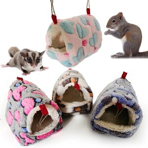 Hamster Squirrel Warm House Guinea Pig Nest Small Animal Pet Bed Sleeping Bag