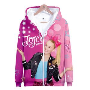 Capa de la chaqueta EXTRAÑA AVENTURA cosplay Jojo Siwa 3D Cremallera JOJO'S Disfraces traje de Halloween Ropa Hoodies