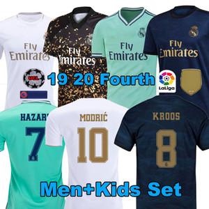 2020 soccer jersey tailandese Real Madrid PERICOLO JOVIC camiseta de futbol 2019 2020 Vinicio ASENSIO camicia di calcio maschile ragazzo camisa de futebol