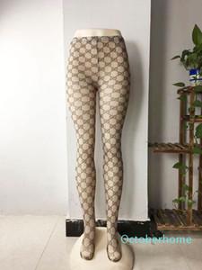 Calze di lusso garantiti per progettista delle donne sexy nero Thin Lady Collant Top Quality garantito femminile calzini sexy griglia trasparente della