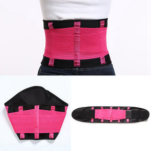 Women Fitness Waist Cincher Waist Trimmer Corset Ventilate Adjustable Tummy Trimmer Trainer Belt Weight Loss Slimming Belt IIA132