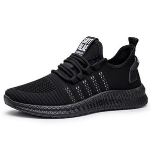 New men's sneakers shoes breathable casual mesh men's shoes fashion slip zapatos de hombre tenis masculino adulto mens shoes