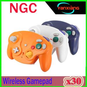 Wireless Controller Gamepad für Nintend GameCube NGC 2.4G WII Spielkonsolen Joystick 30 Stück ZY-NGC-1