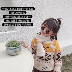 You you mao mi 2019 Winter New Style Christmas-Style Thick Pullover Versatile Elk Retro Men And Women Children Sweater