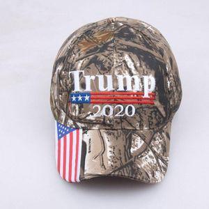 Lettre 2020 Drapeau américain Realtree Chapeau Marque Maga Chapeau Usa Camo camouflage Kag Casquette de baseball