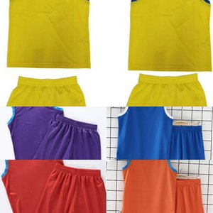 muj0A 2019 children's primary and secondary basketball suit sweatshirt basketball school students quick-drying training suit boys' kindergar