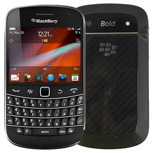 Recuperado Original Blackberry Bold Touch 9900 de 2,8 polegadas 8GB ROM 5MP Camera tela de toque + QWERTY de teclado 5pcs 3G Smart Mobile Telefone DHL