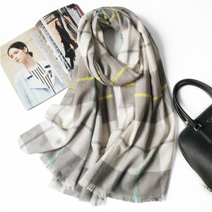 Autumn and winter new men and women common classic fashion model wool plaid shawl dual use warm blanket