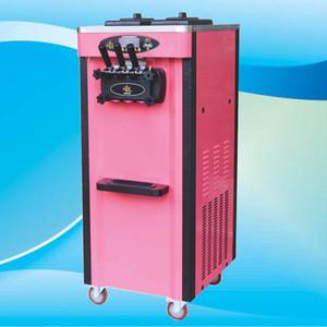 Venta caliente Soft Serve Ice Cream Machine Comercial 3 Sabores Comercial helado suave máquina de yogurt