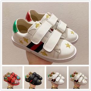 Gucci shoes Ace ricamati Api bambini dei pattini casuali delle scarpe da tennis Shell punta infantile delle ragazze dei neonati Childen Athletic Trainers Toddlers