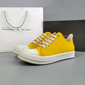 Mans Schuhe 2020 Fashion Lace-up beiläufige Schuh-Mann-Turnschuh-Breath Gelb Ro Schuhe Männlich Tennis 12 # 25 / 20D50