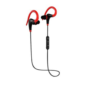 TOP Bluetooth headphones bt-01 Sports Bluetooth Headset Wireless 4.1 Music Stereo Earphone black and red for lphone for MP3