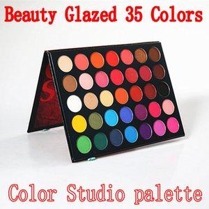 Newest Beauty Glazed Eyeshadow Palette 35 Color Eye shadow shimmer matte makeup eyeshadow Color Studio palette Brand Cosmetics DHL