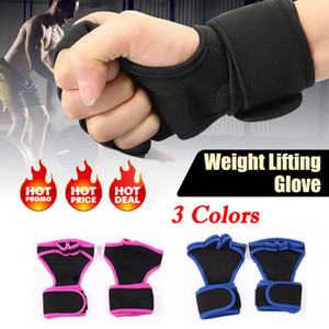 Women Men Fashion Cycling Weight Lifting Gym Training Fitness Multifunctional Non-slip Gloves Sports Wrist Wrap Workout Exercise