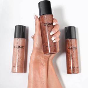 Caliente hidratante maquillaje Ajuste de pulverización de líquidos de larga duración Prep Set resplandor impermeable aerosol maquillaje icónica de Londres Rotuladores