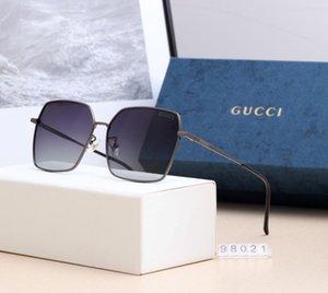 Моде нового фонда солнцезащитные очки 2020 популярный досуг мужские мужские люксовый бренд дизайнер солнцезащитные очки солнечные очки UV400 1л 1л гг