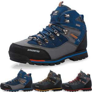 Мужские Открытый Trekking Походные сапоги противоскольжения сапоги Мужская обувь Top Mountain Качество Восхождение Спорт Зимняя обувь