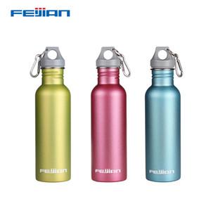 Botella Feijian agua del deporte del acero inoxidable de gran capacidad portátil de boca ancha de bebida al aire libre Ciclo Hervidor frasco
