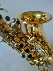 Япония Yanagisawa изогнутые сопрано SC-W010 саксофон электрофорез золота SAX B плоские приборы с аксессуарами