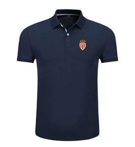 Монако 2020 весной и летом новый хлопок футбол рубашка поло мужская с короткими рукавами лацкане унисекс поло может DIY обычай мужской рубашки поло
