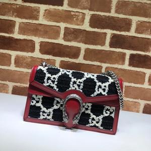 MODA NUOVO TOP 400249 donne del cuoio genuino del progettista di lusso borse borse a tracolla tasche torsione borsa messaggero Totes Shopping bag