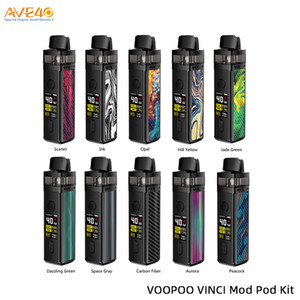 Voopoo Vinci Mod Pod Kit 40W Built-in 1500mAh Batterie mit 5,5 ml Visible Pod V Voopoo Drag 2 100% Vorlage