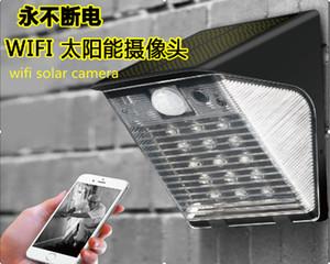 Пятно 1080P WIFI Солнечная HD CCTV камеры видеонаблюдения DVR рекордер PIR детектор движения TF Поддержка карт Бесплатная доставка DHL
