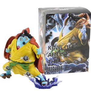 15 cm Anime One Piece King Of Artist Jinbe PVC Figurine de collection Modèle Toy main