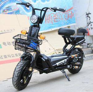 adulto coche eléctrico de dos ruedas eléctrico de vehículos batería del coche bicicleta eléctrica exquisita scooter vehículo recreativo 48v 500w Motor