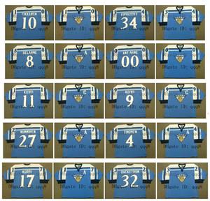 팀 핀란드 올림픽 저지 4 KIMMO TIMONEN 17 JARI KURRI 32 NIKLAS BACKSTROM 12 OLLI JOKINEN 11 SAKU KOIVU 파란색 맞춤 하키 유니폼