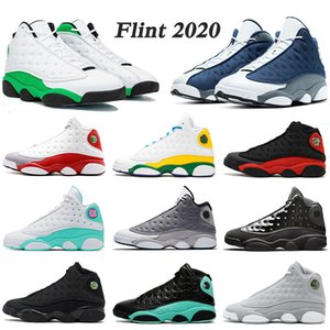 Nike Air Jordan 13 Retro 2020 Flint 13s 2020 Basketball Schuhe stock x JUMPMAN Soar Playground Island Bred Lakers neue Herren Damen Designer Sneakers Turnschuhe Größe EUR 47