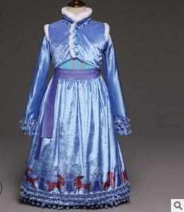 Baby Girls Dress Winter Children Frozen Princess Dresses Kids Party Costume Halloween Cosplay Clothing