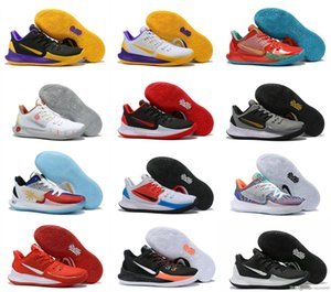 New Kyrie Low 2 Black Gold White Yellow Purple Ice Blue Bottom Basketball Shoes For High quality Mens Kyrie2 2s Sports Sneakers Size40-46