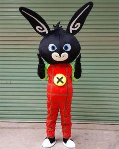 2018 Haute qualité chaud livraison gratuite bing lapin Costume De Mascotte Sur Mesure taille adulte lapin Personnage De Dessin Animé Mascotte