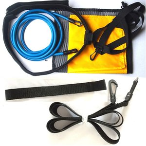 Swim Training Belts Swim Bungee Cords Resistance Bands Tether Stationary Pull Rope Outdoor Fitness Resistance Band