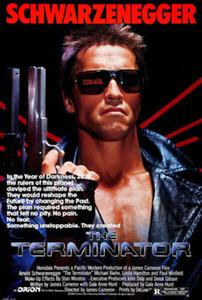 TERMINATOR Arnold Schwarzenegger İpek Baskı Poster 577863