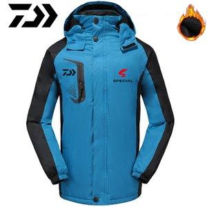 2020 Yeni Balıkçılık ceketler Açık Kalın Clothings Sonbahar Kış Erkek Spor Giyim Balıkçılık Pamuk Camping Isınma
