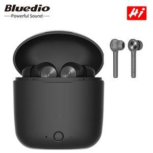 Nova marca Bluedio Oi sem fio bluetooth fone de ouvido tws fones de ouvido para telefone tablet estéreo baixo som esporte fones de ouvido fone de ouvido